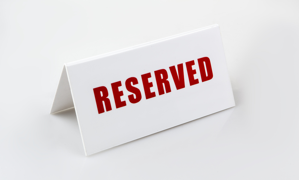 Reserved Places for Mature Students