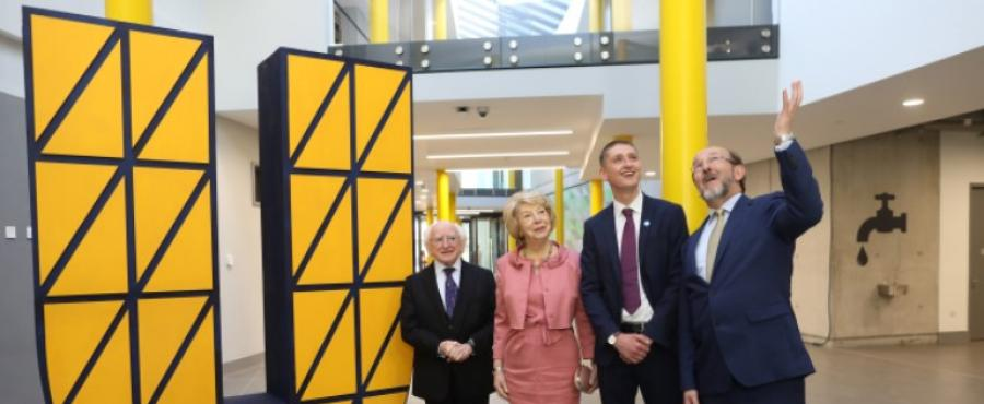 DCU unveils €15 million Student Centre: 'The U'