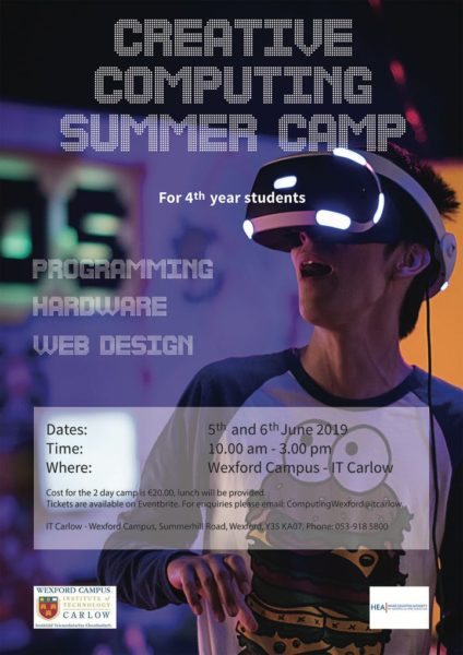 Wexford Creative Computing Summer Camp
