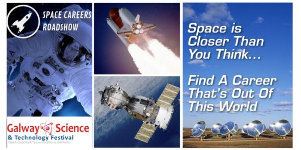 Space Careers Roadshow at NUI Galway