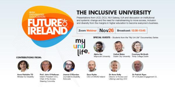 IUA Future of Ireland Seminar: The Inclusive University
