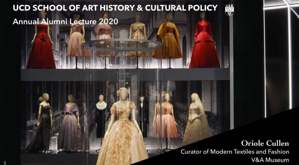 UCD School of Art History & Cultural Policy Annual Alumni Lecture