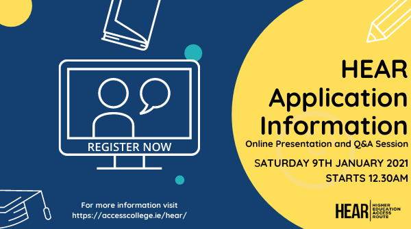HEAR Application Information Session Online
