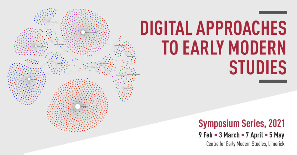 Digital Approaches to Early Modern Studies