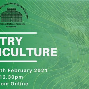 Try Horticulture Virtual Open Day by Teagasc College of Amenity Horticulture